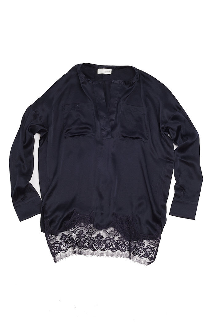 Silk Lace Top - Faith Connexion - Top - TOPGEARNY