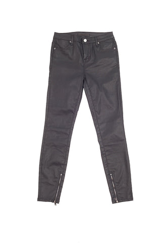 The Muse Skinny Jeans with Ankle Zip