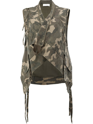 Forest Sleeveless Jacket - Faith Connexion - Jacket - TOPGEARNY
