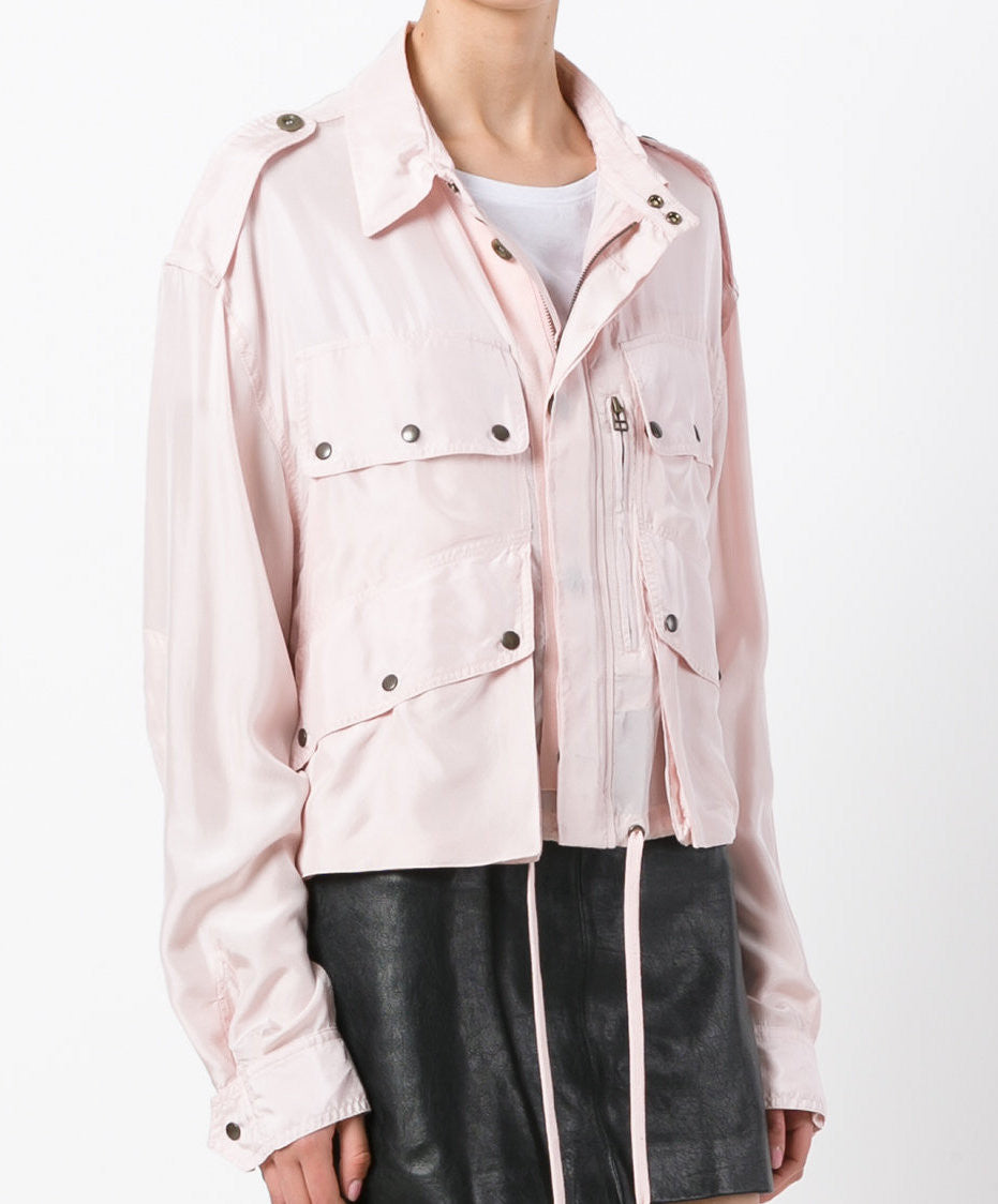 Silk Shirt Parka - Faith Connexion - Jacket - TOPGEARNY