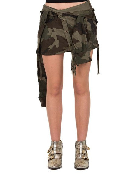 Camo Shirt Skirt - Faith Connexion - Skirt - TOPGEARNY