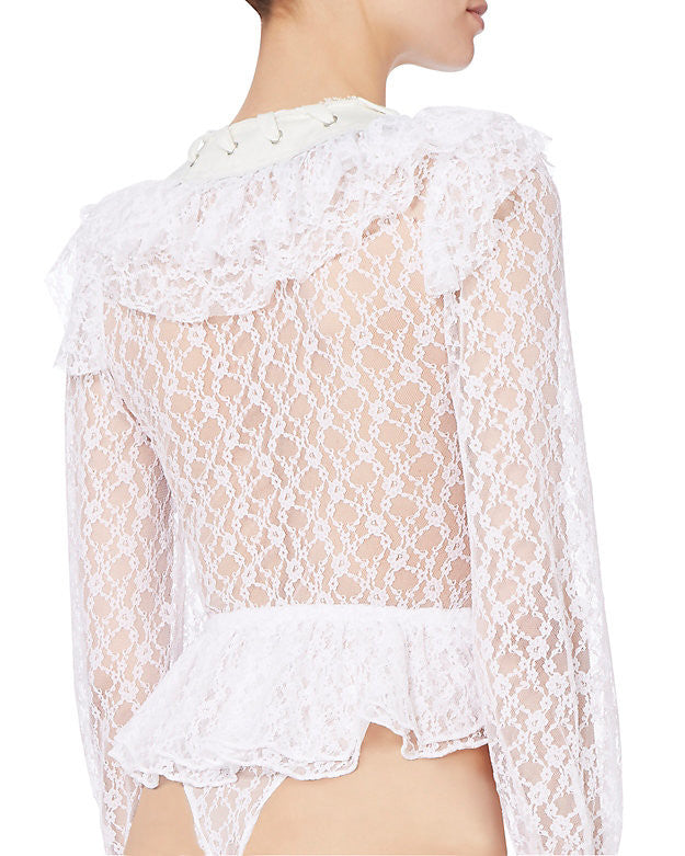 Lace Body Top - Faith Connexion - Top - TOPGEARNY