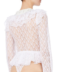 Lace Body Top
