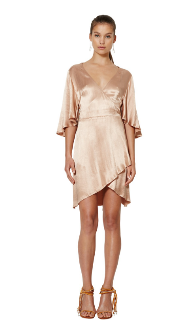 Dahlia Wrap Dress - Bec & Bridge - Dress - TOPGEARNY