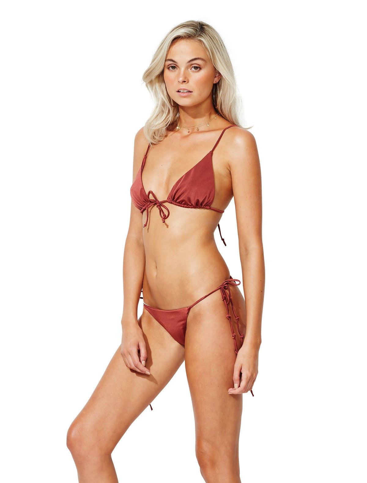 Cinnamon Island Triangle Set - Bec & Bridge - Swim Suit - TOPGEARNY