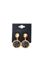 Louna Drop Earrings - Karine Sultan - Earrings - TOPGEARNY