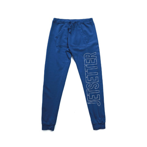 Jetsetter Blue Sweat Pants - Happiness - Sweatpants - TOPGEARNY