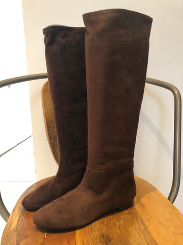 Polo Suede Tall Boots
