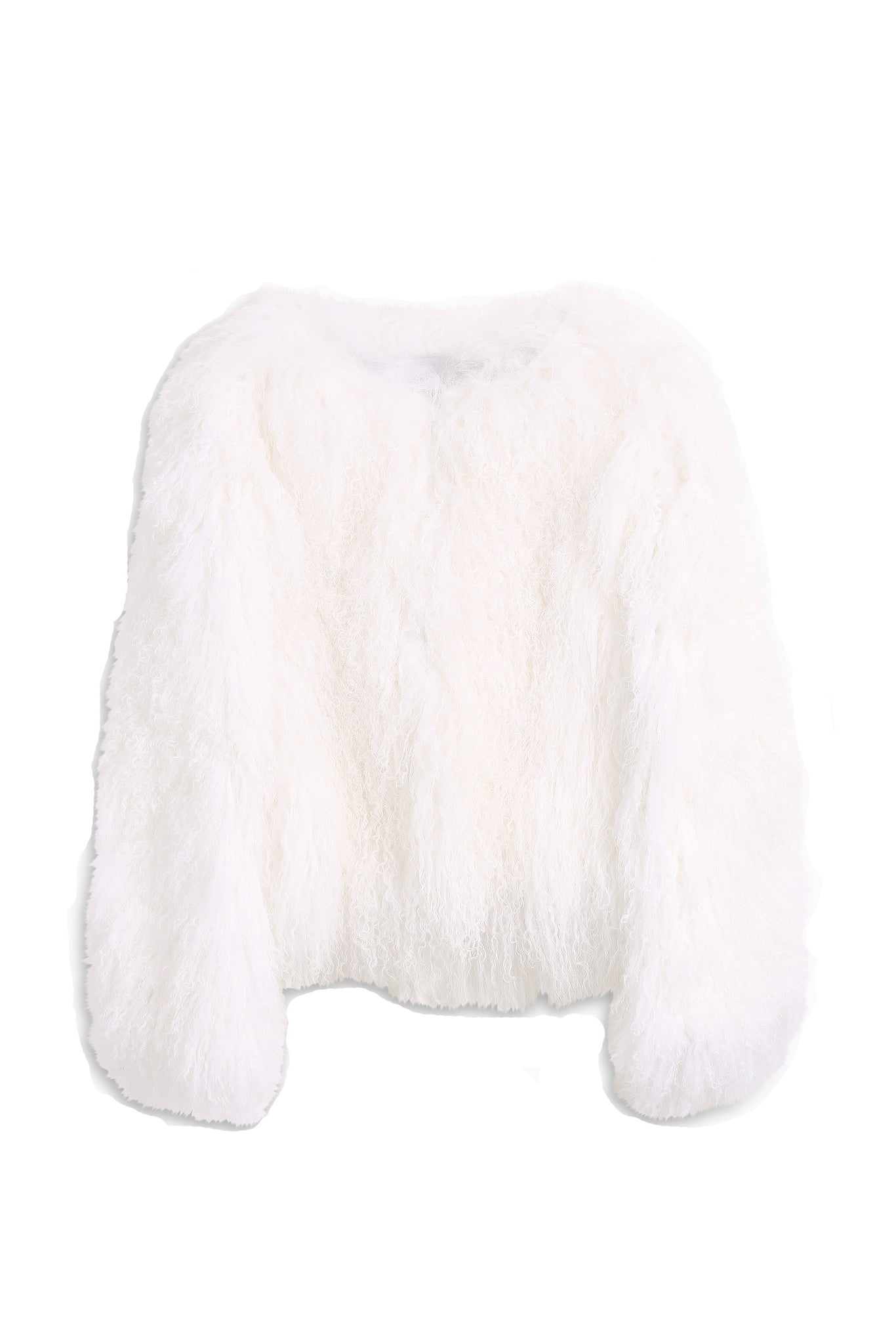 Mongolian Fur Jacket - Paul and Joe - Fur - TOPGEARNY