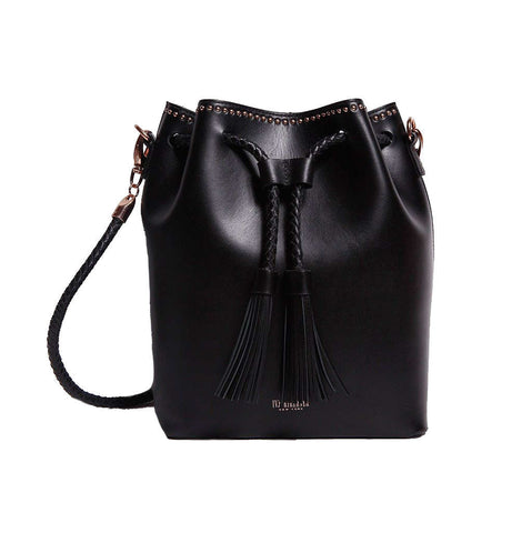 Sultan  BLACK Bucket Bag