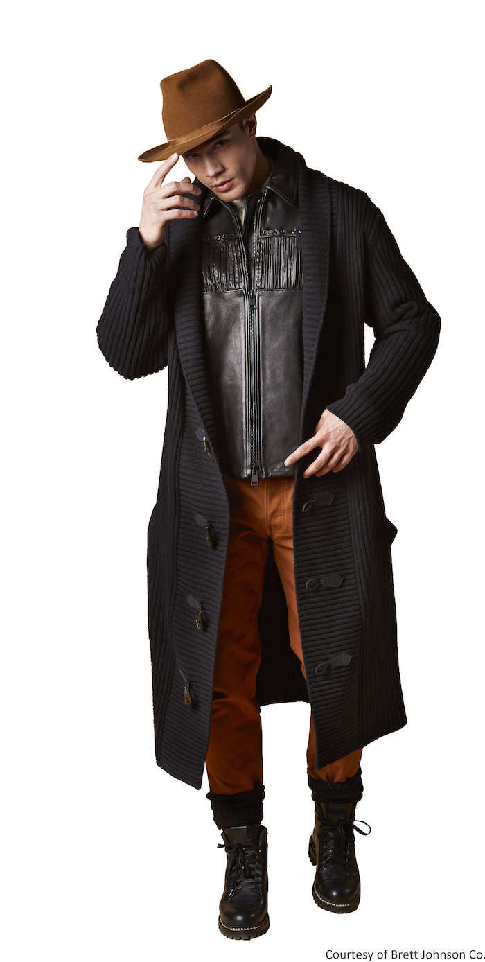 Knit Duster - Brett Johnson - Jacket - TOPGEARNY