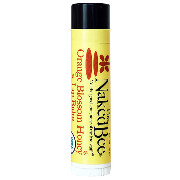 Naked Bee - Orange Blossom Honey Lip Balm - Accessories Boutique