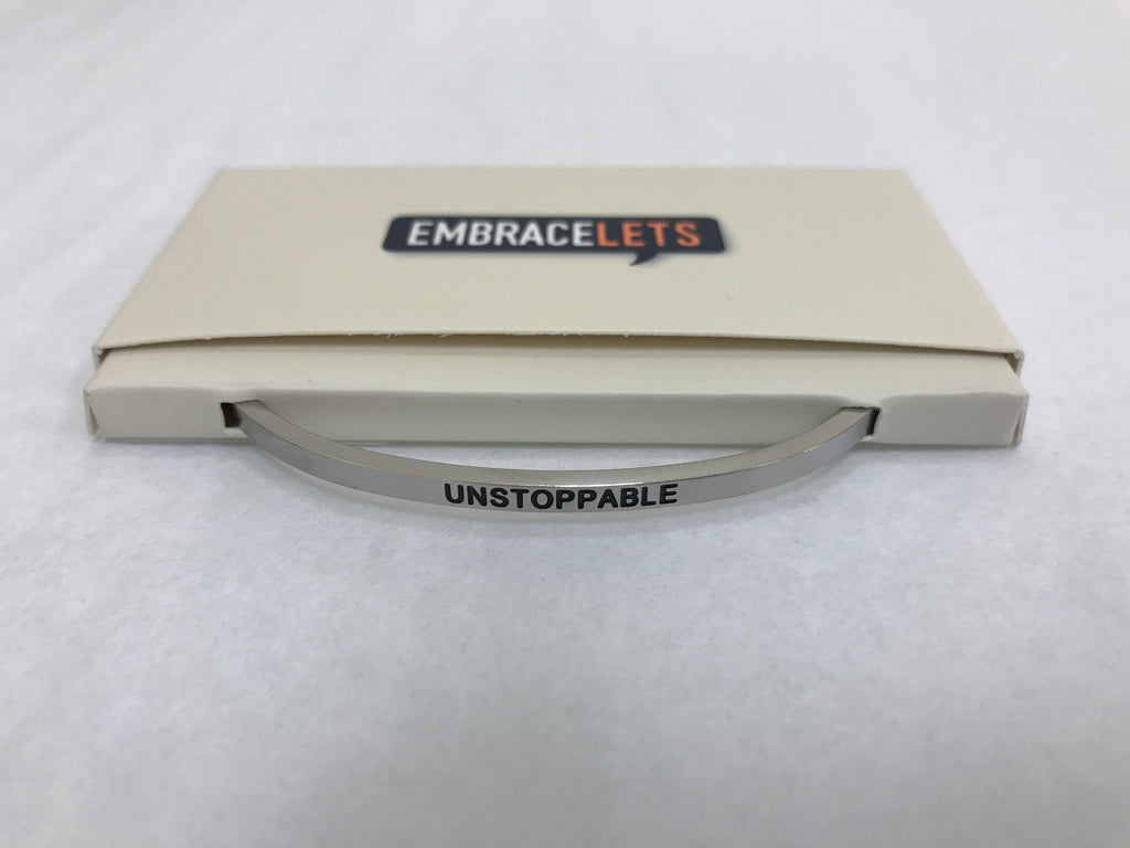 "Embracelets - ""Unstoppable"" Silver - Accessories Boutique"