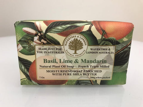 Australian Soapworks Wavertree & London Vegan Beach Soap