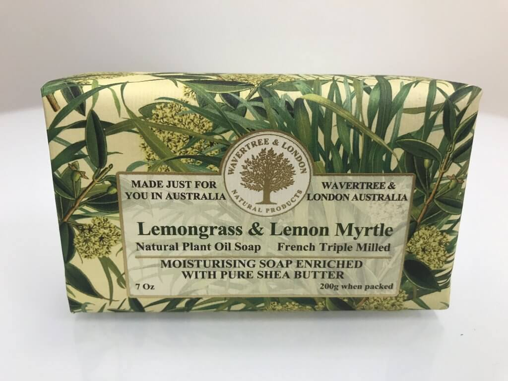 Australian Wavertree & London Vegan Lemongrass & Lemon Myrtle Soap