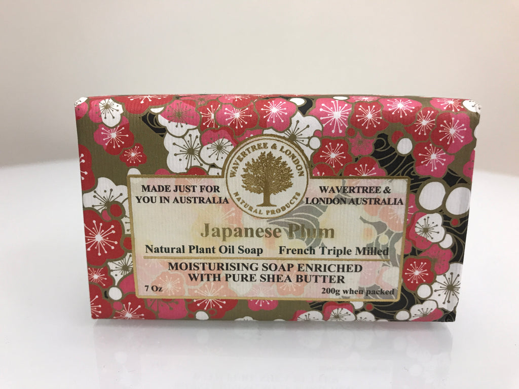 Australian Soapworks Wavertree & London Vegan Japanese Plum Soap