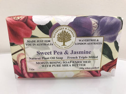 Australian Soapworks Wavertree & London Vegan Lemongrass & Lemon Myrtle Soap