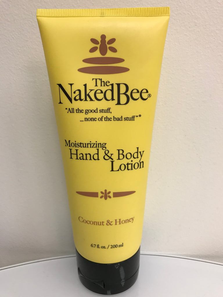 Naked Bee - Coconut & Honey Lotion (Large) - Accessories Boutique