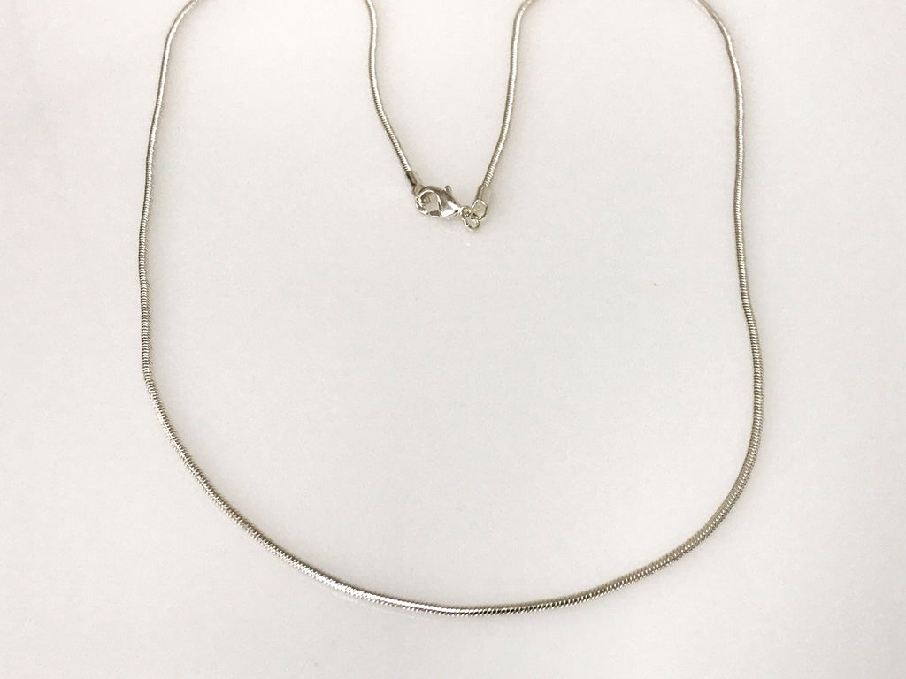 Silver Snake Chain Size 16,18,20,24,30