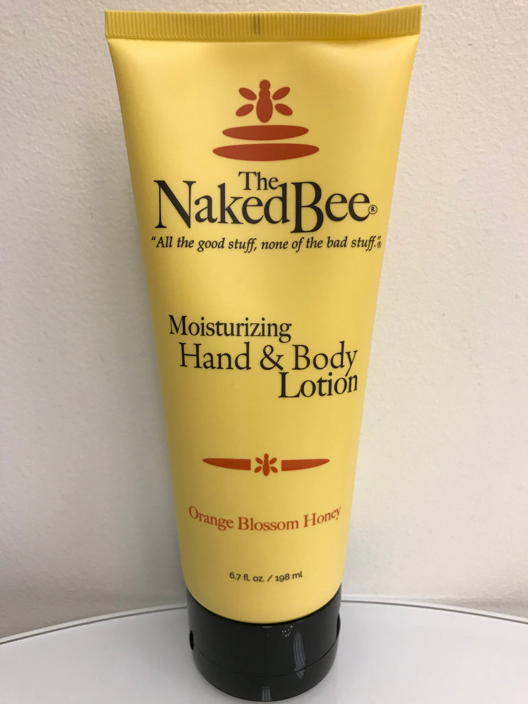 Naked Bee - Orange Blossom Honey Lotion (Large) - Accessories Boutique
