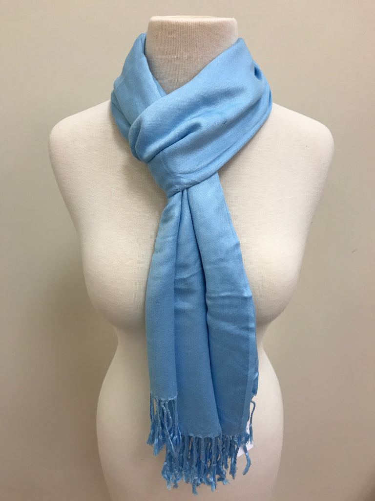 Pashmina Scarf Shawl - Blue Sky - Accessories Boutique