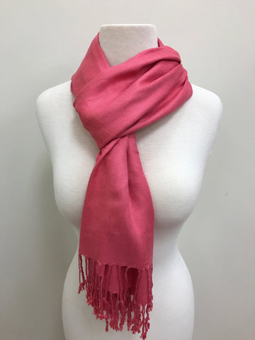 Pashmina Scarf Shawl - Taupe Light Scarf