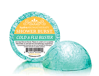 Hydra Aromatherapy - Cold & Flu Shower Burst - Accessories Boutique