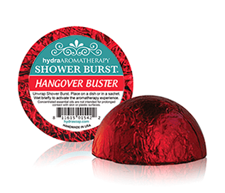 Hydra Aromatherapy - Hangover Shower Burst - Accessories Boutique