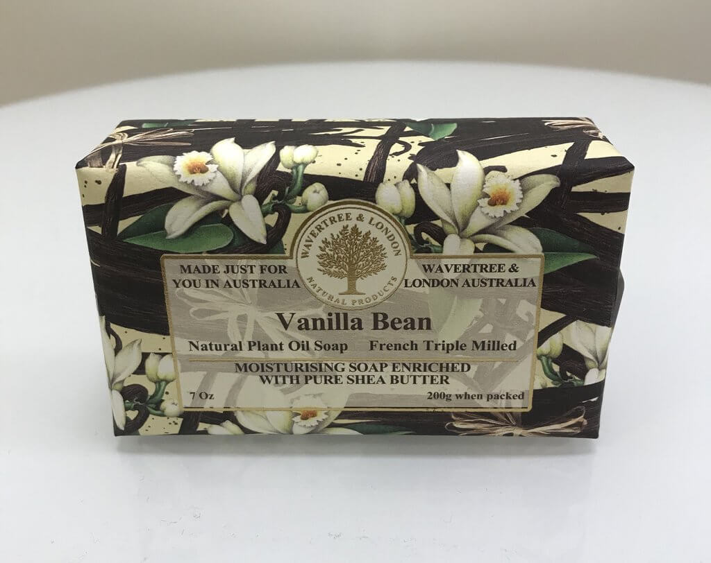 Australian Soapworks Wavertree & London Vegan Vanilla Bean Soap