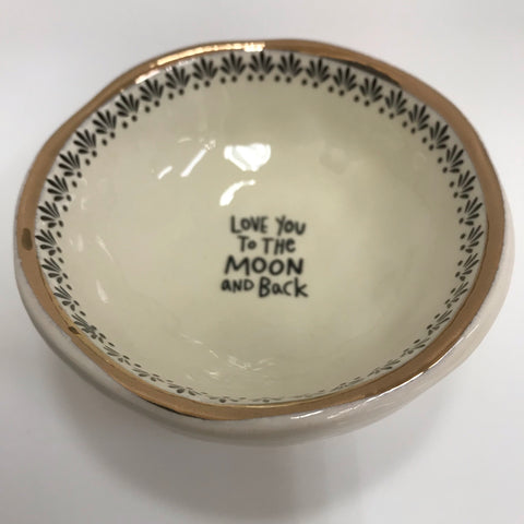 "Natural Life Ceramic Dish - ""You make the world a better place"" DSH175"