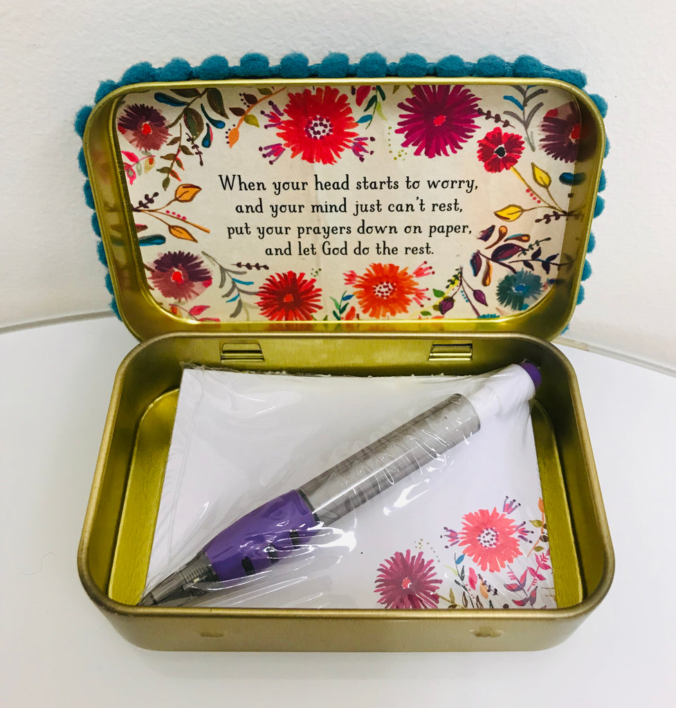 "Natural Life Prayer Box - ""Have Faith"" - Accessories Boutique"