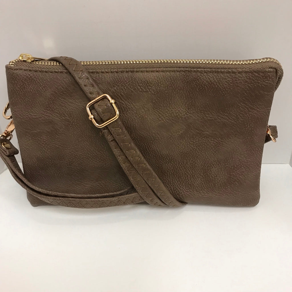 Handbag - Claire Medium Clutch Khaki