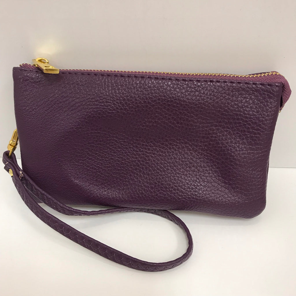 Handbag - Brittney Small Clutch Purple