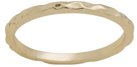 DaVinci Ring - Layers Stackable Gold Teardrop Pearl Ring Lay2