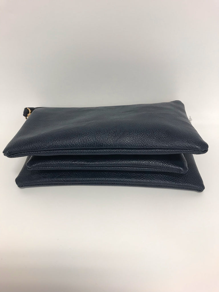 Handbag - Claire Medium Clutch Navy - Accessories Boutique