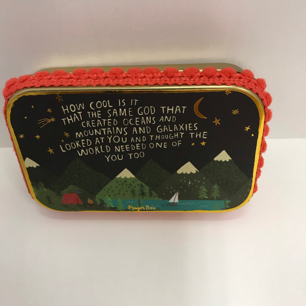 "Natural Life Prayer Box - ""How Cool Is It That The Same God...."" PBX083"