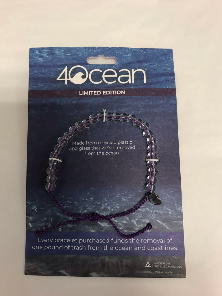4Ocean Purple Trash Bracelet (2)