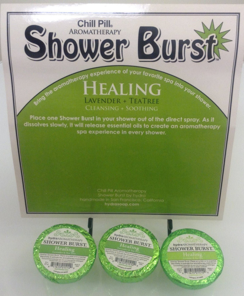 Hydra Aromatherapy - Healing Shower Burst - Accessories Boutique