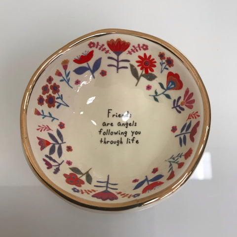 "Natural Life Ceramic Dish ""Love You To The Moon And Back"" DSH144"