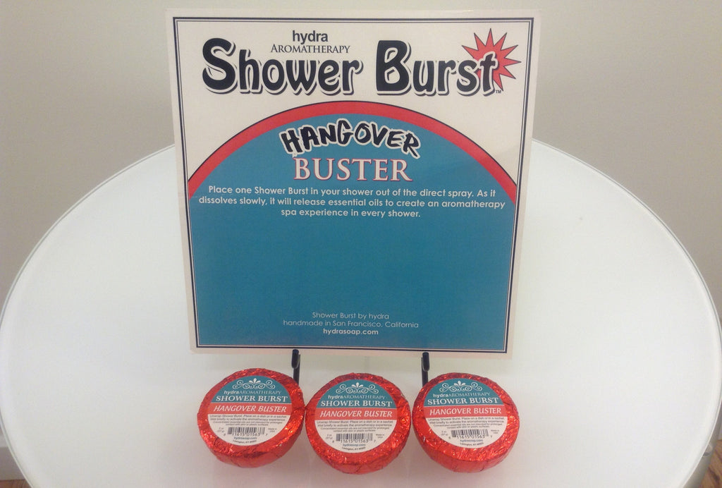 Aromatherapy - Shower Burst Hangover - Accessories Boutique