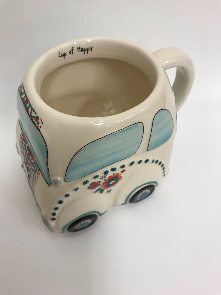 "Natural Life Mug - Car ""Cup of Happy"" MUG335"