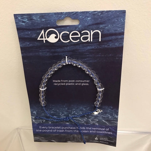 4Ocean Purple Trash Bracelet