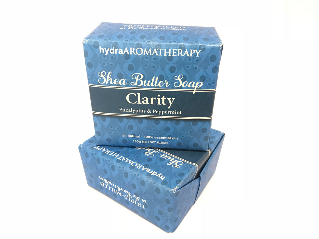 Hydra Aromatherapy - Clarity Shea Soap - Accessories Boutique