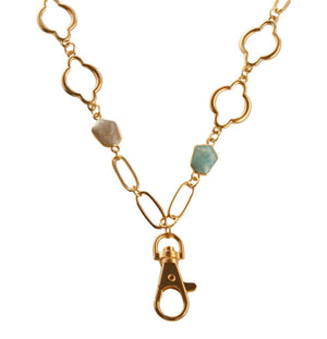 Christina Arabesque Lanyard (Gold)