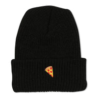 Emoji Beanie Black - PIZZA SKATEBOARDS