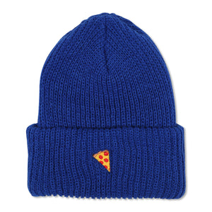 Emoji Beanie Blue - PIZZA SKATEBOARDS