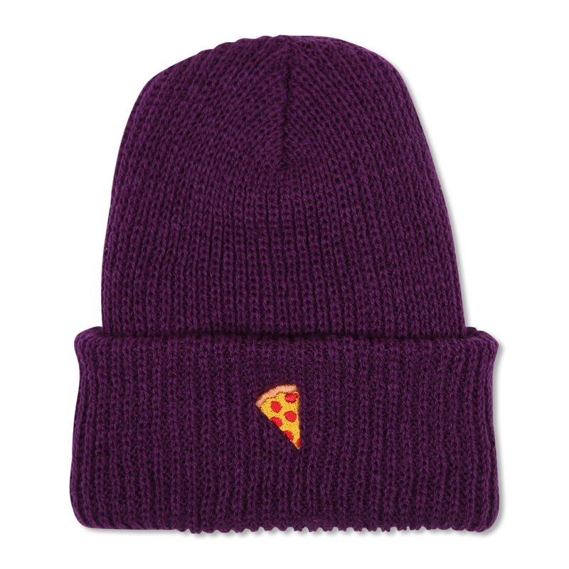Emoji Beanie Purple - PIZZA SKATEBOARDS