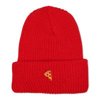 Emoji Beanie Red - PIZZA SKATEBOARDS
