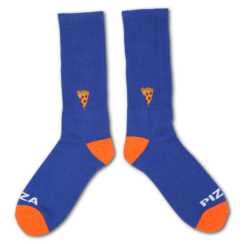 Emoji Socks Blue/Orange
