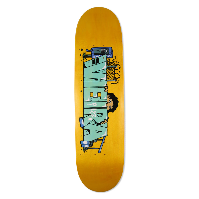"Vieira Kilroy Deck 8.375"" - PIZZA SKATEBOARDS"